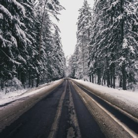 Winter Road<span>photography</span>